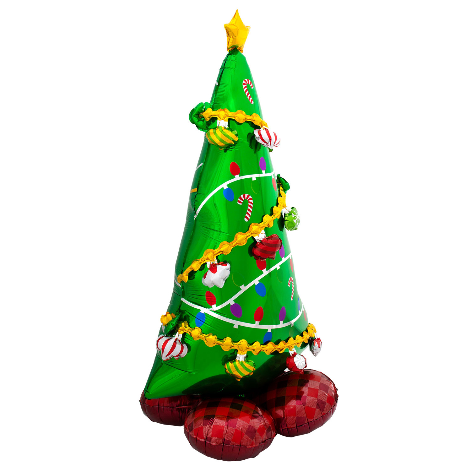 Large 55-Inch Airloonz Christmas Tree Balloon