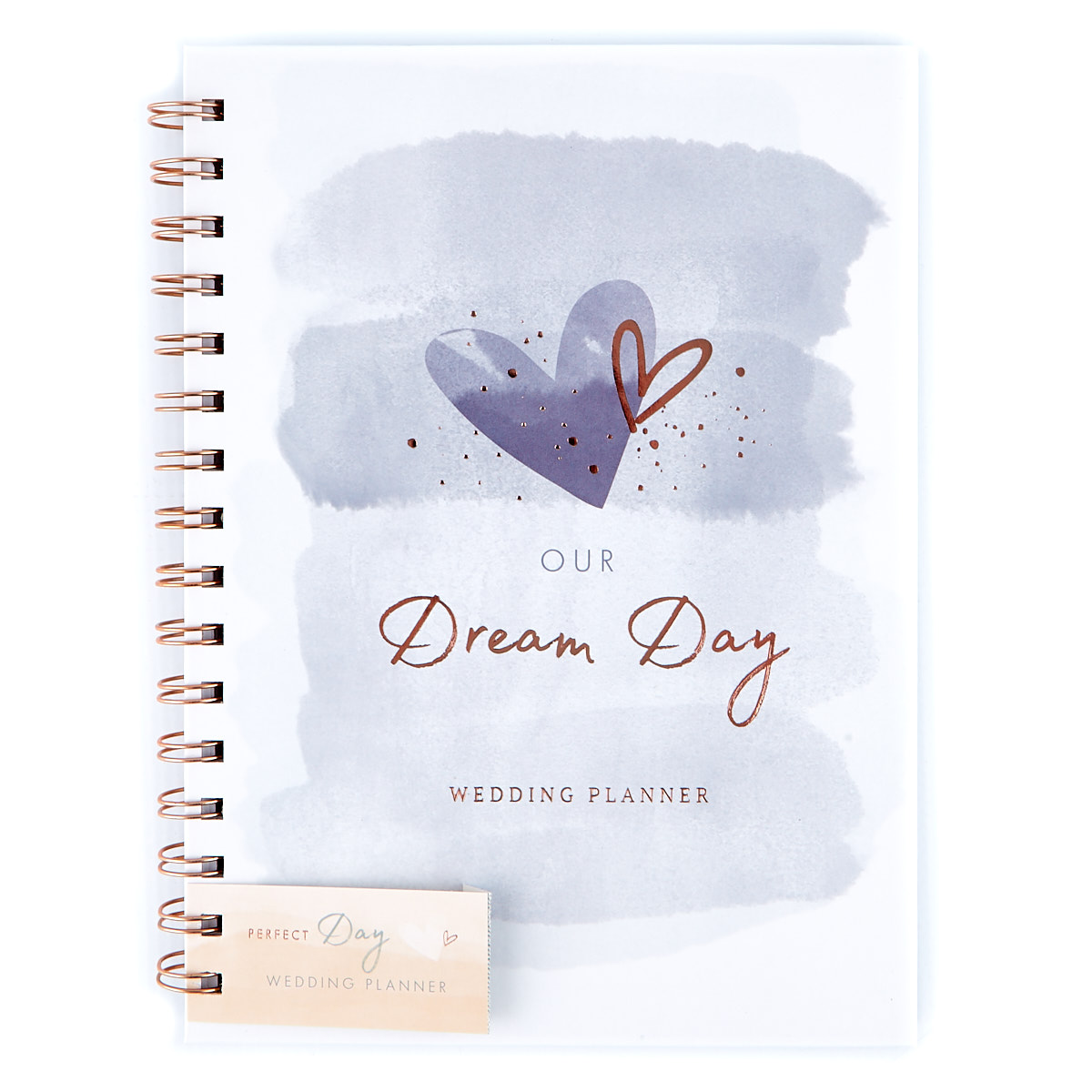 Our Dream Day Wedding Planner - Silver Hearts