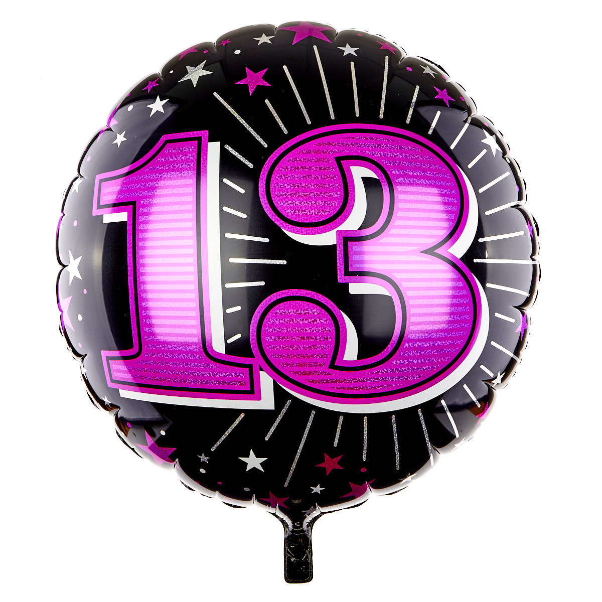 31 Inch 13th Birthday Helium Balloon - Pink