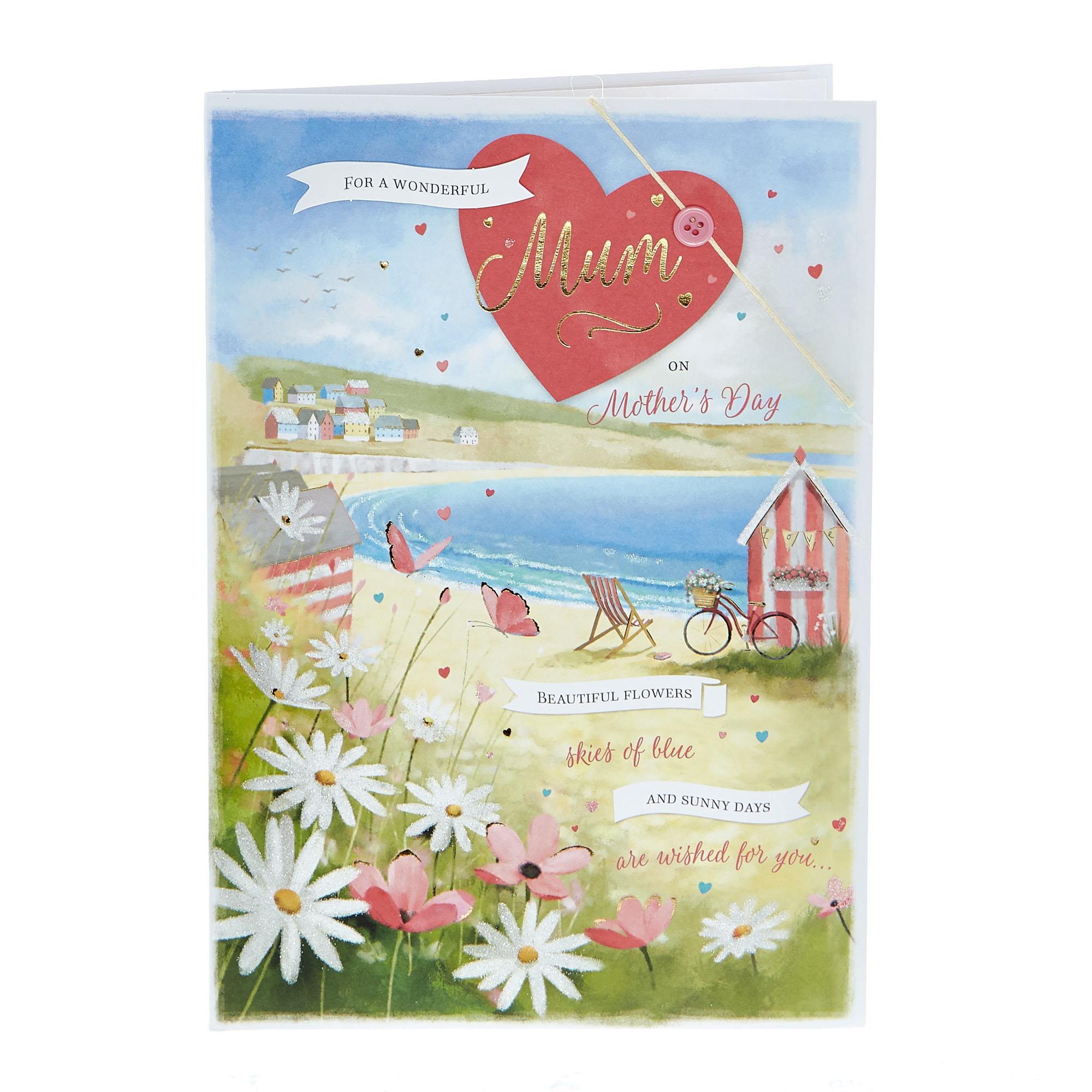 Mother's Day Card - Wonderful Mum Sunny Days
