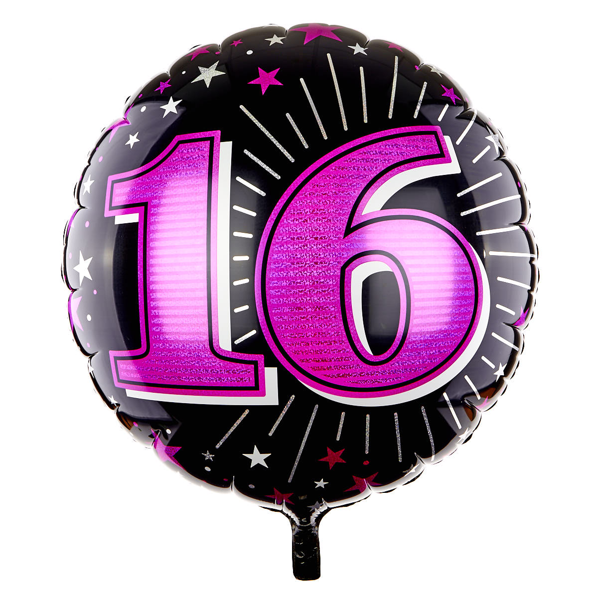31 Inch 16th Birthday Helium Balloon - Pink