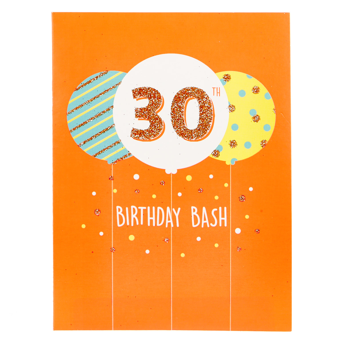 30th Birthday Party Invitations - Pack of 12