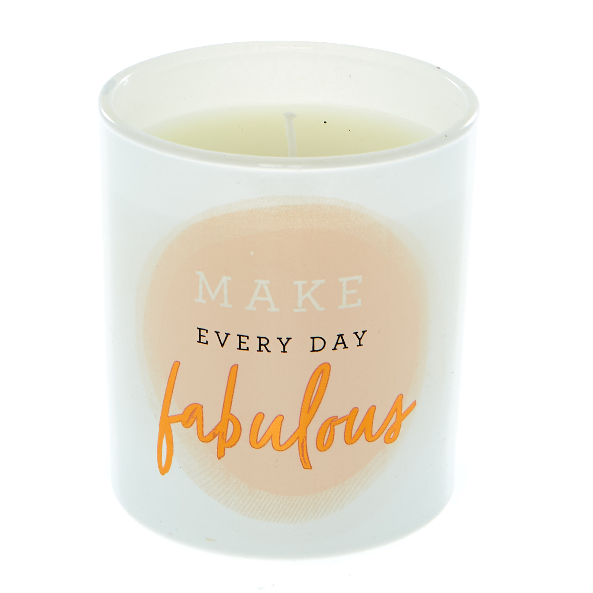 Buy Make Everyday Fabulous Vanilla Scented Candle For Gbp 1 99 Card Factory Uk