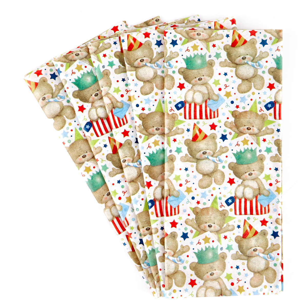 Hugs Bear Tissue Paper - 7 Sheets