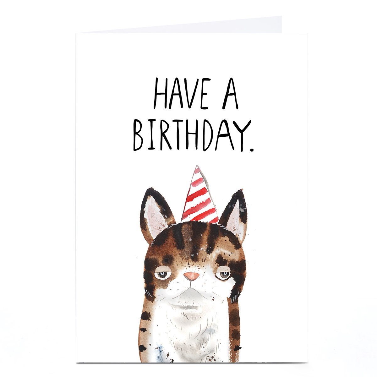 Personalised Jolly Awesome Card - Have A Birthday