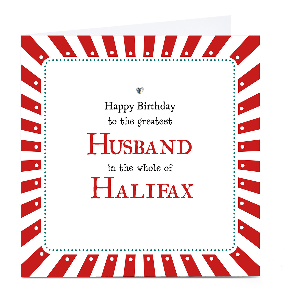 buy personalised birthday card  to the greatest any name
