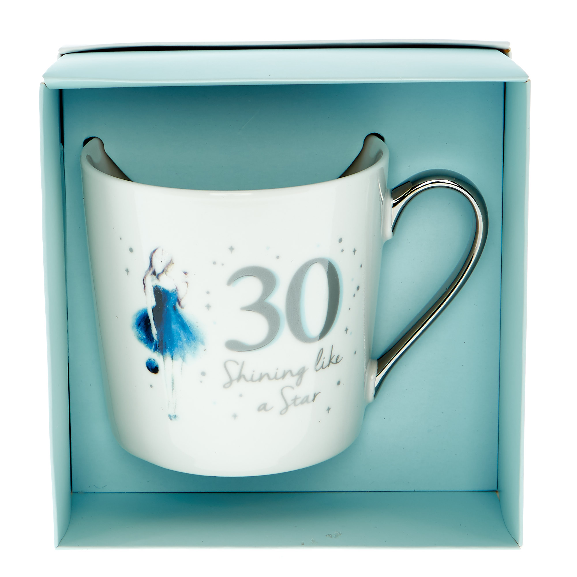 30th Birthday Mug In A Box - Shining Like A Star
