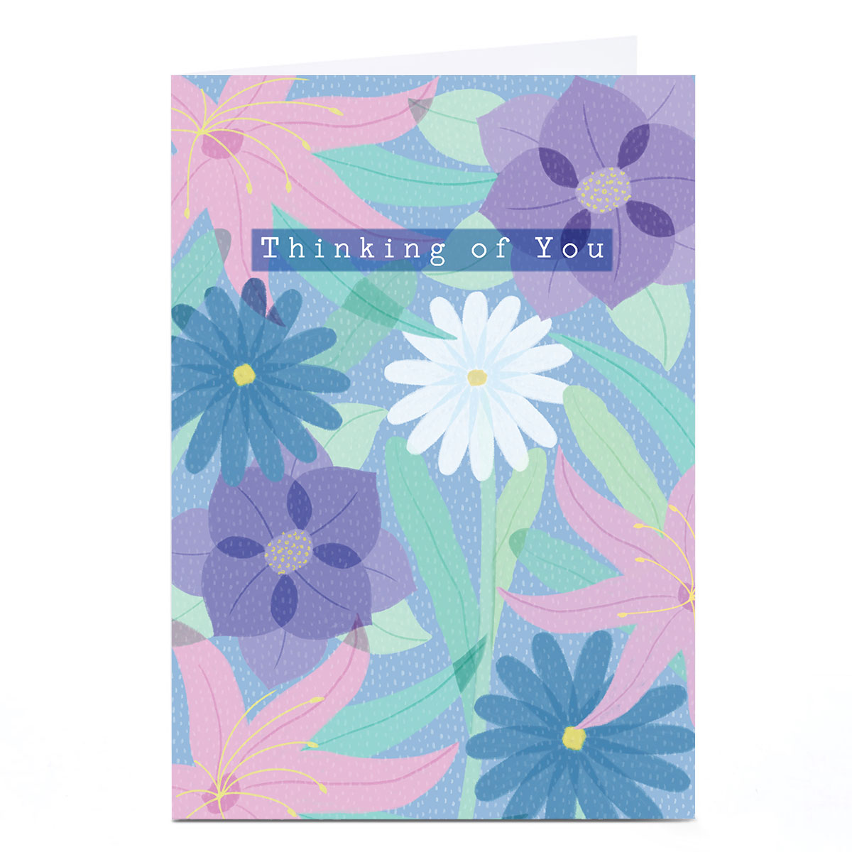 Personalised Hannah Steele Thinking Of You Card