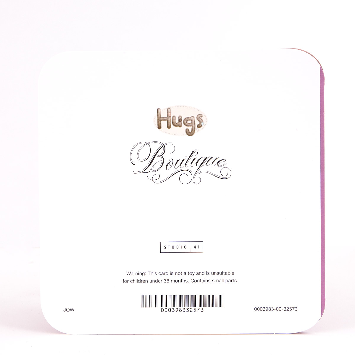 Boutique Collection Birthday Card - Nannie Hugs