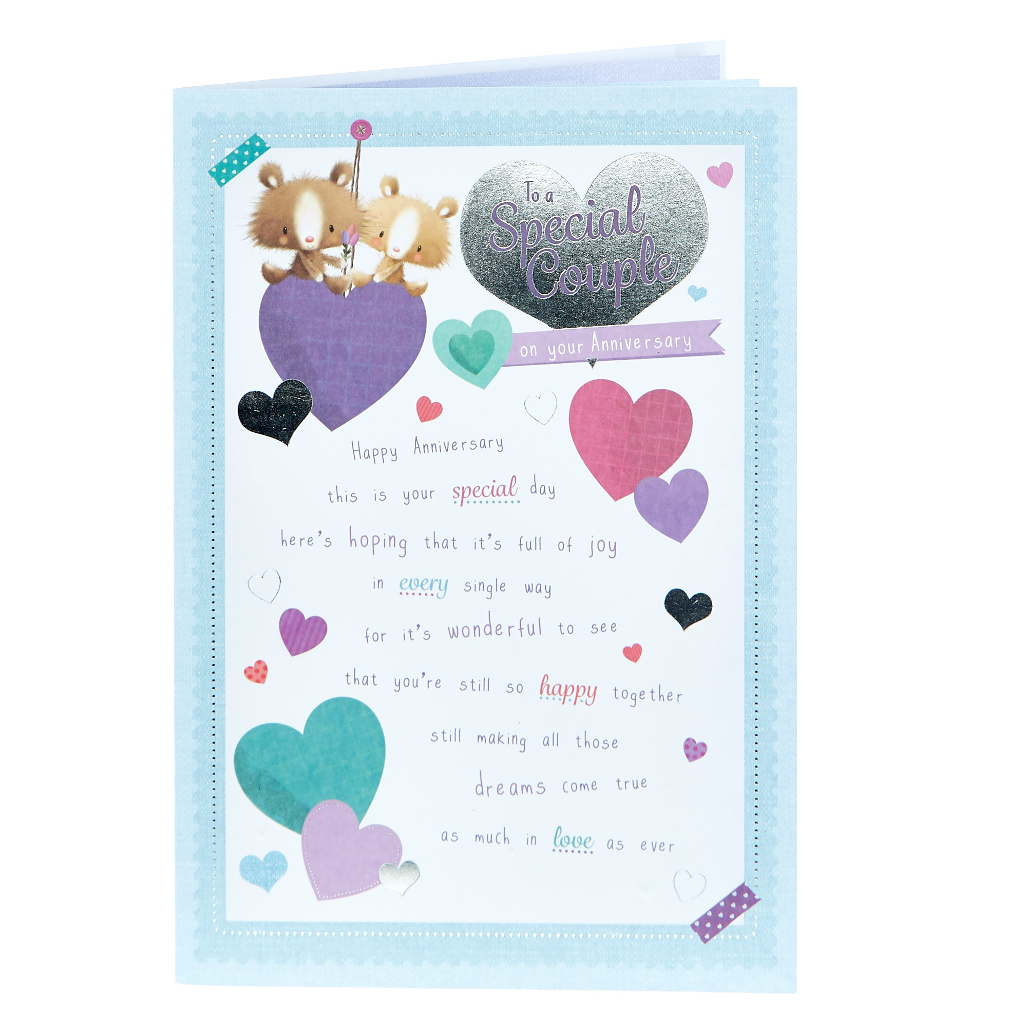 buy anniversary card  to a special couple for gbp 099