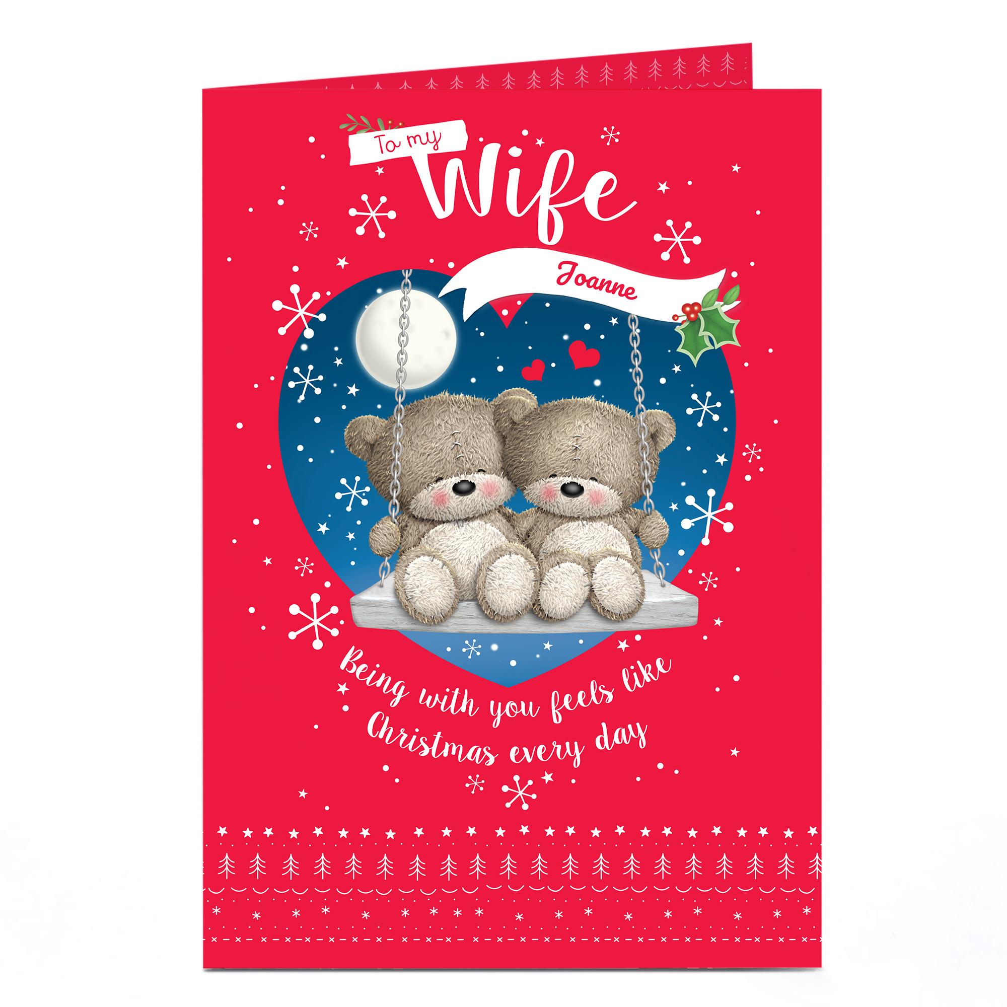 Buy Personalised Christmas Card