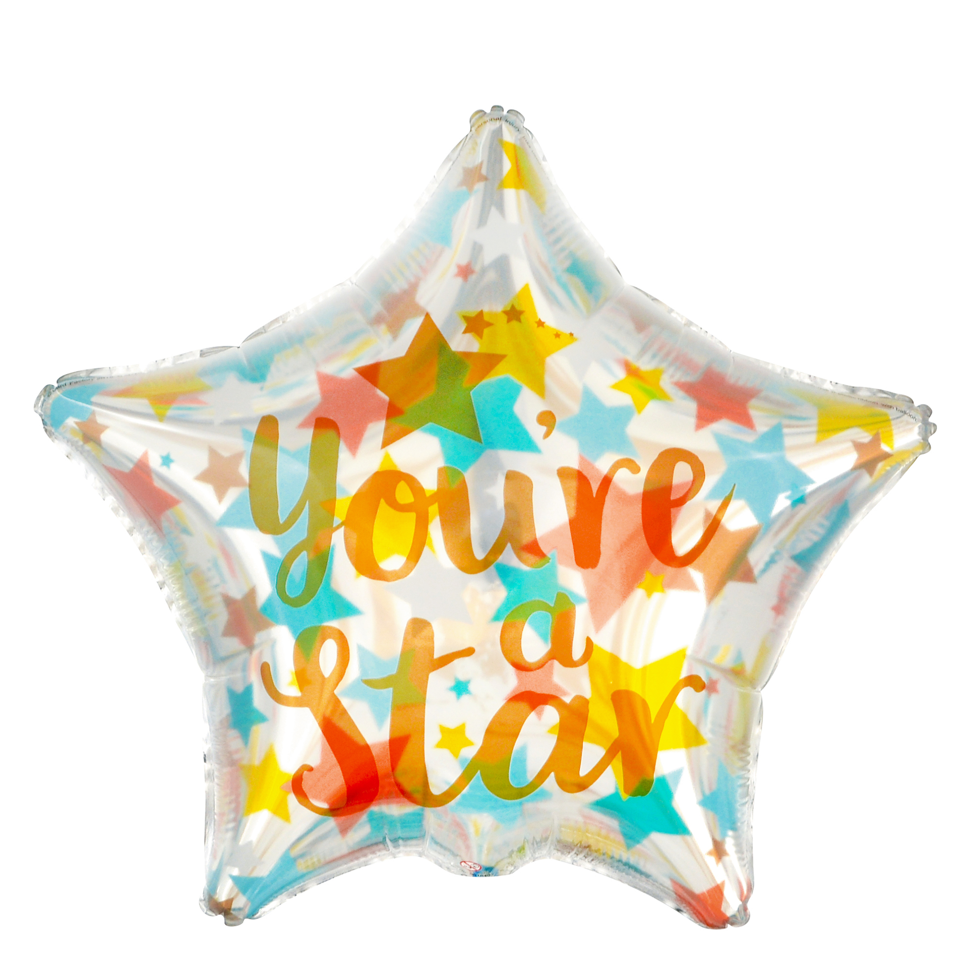 You're A Star 19-Inch Foil Helium Balloon