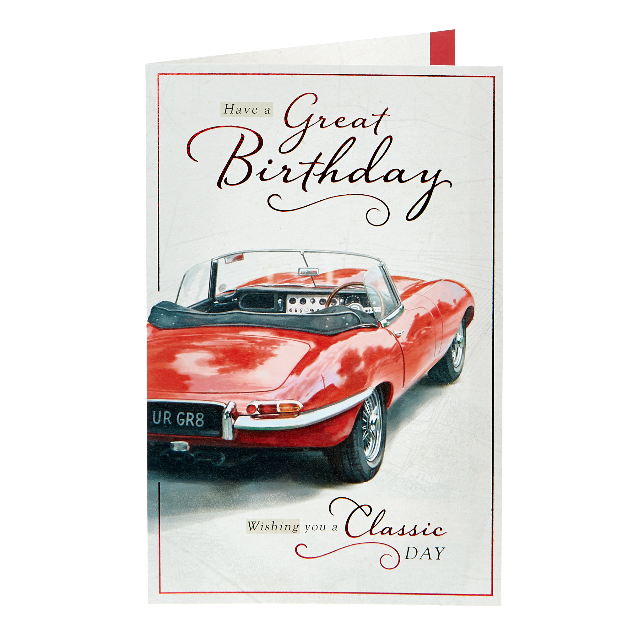 Birthday Card - A Classic Day