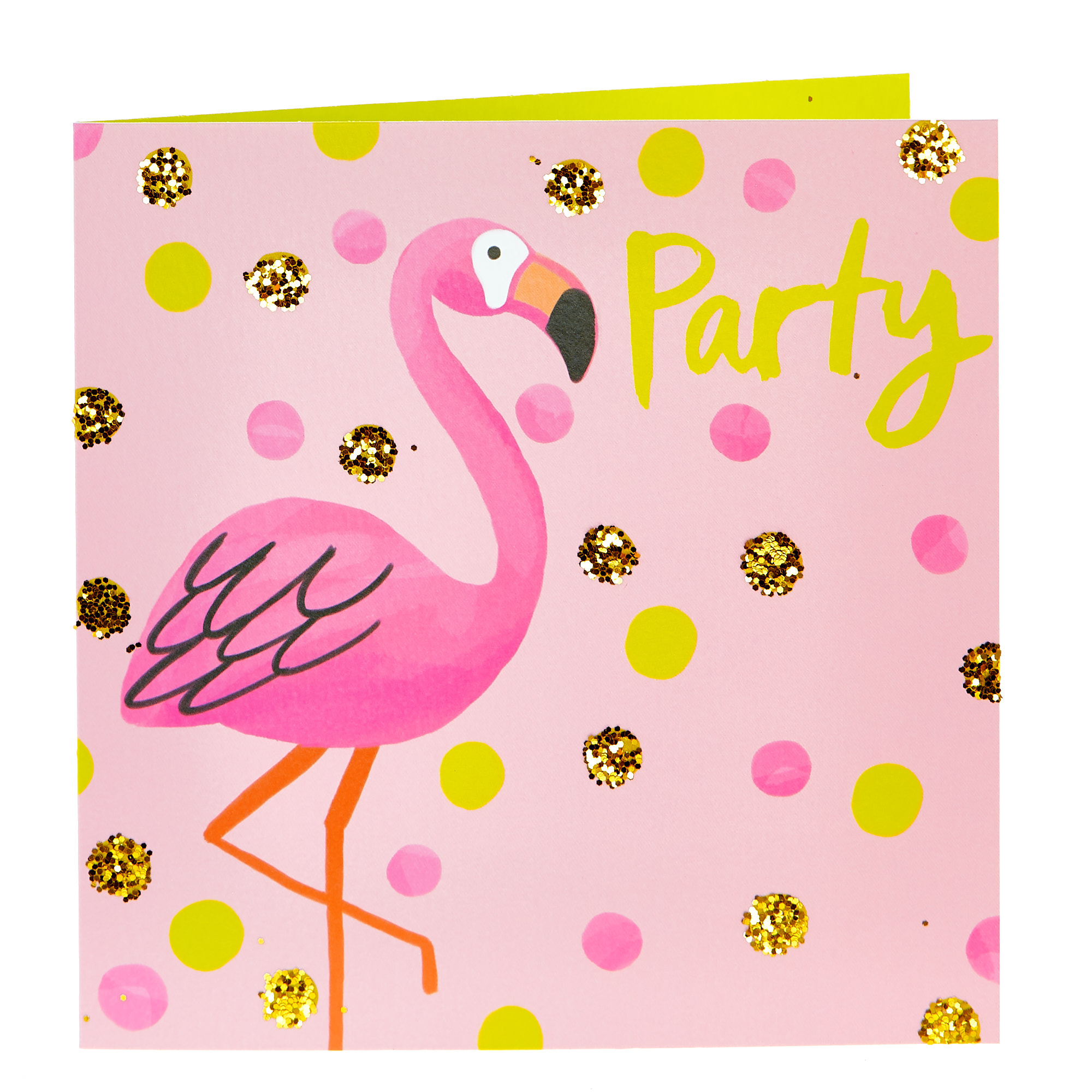 Any Occasion Card - Flamingo Party