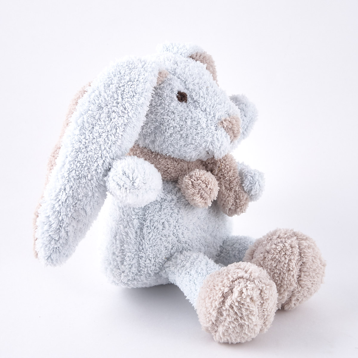 Tiny Treasures - Blue Rabbit Towel Plushie
