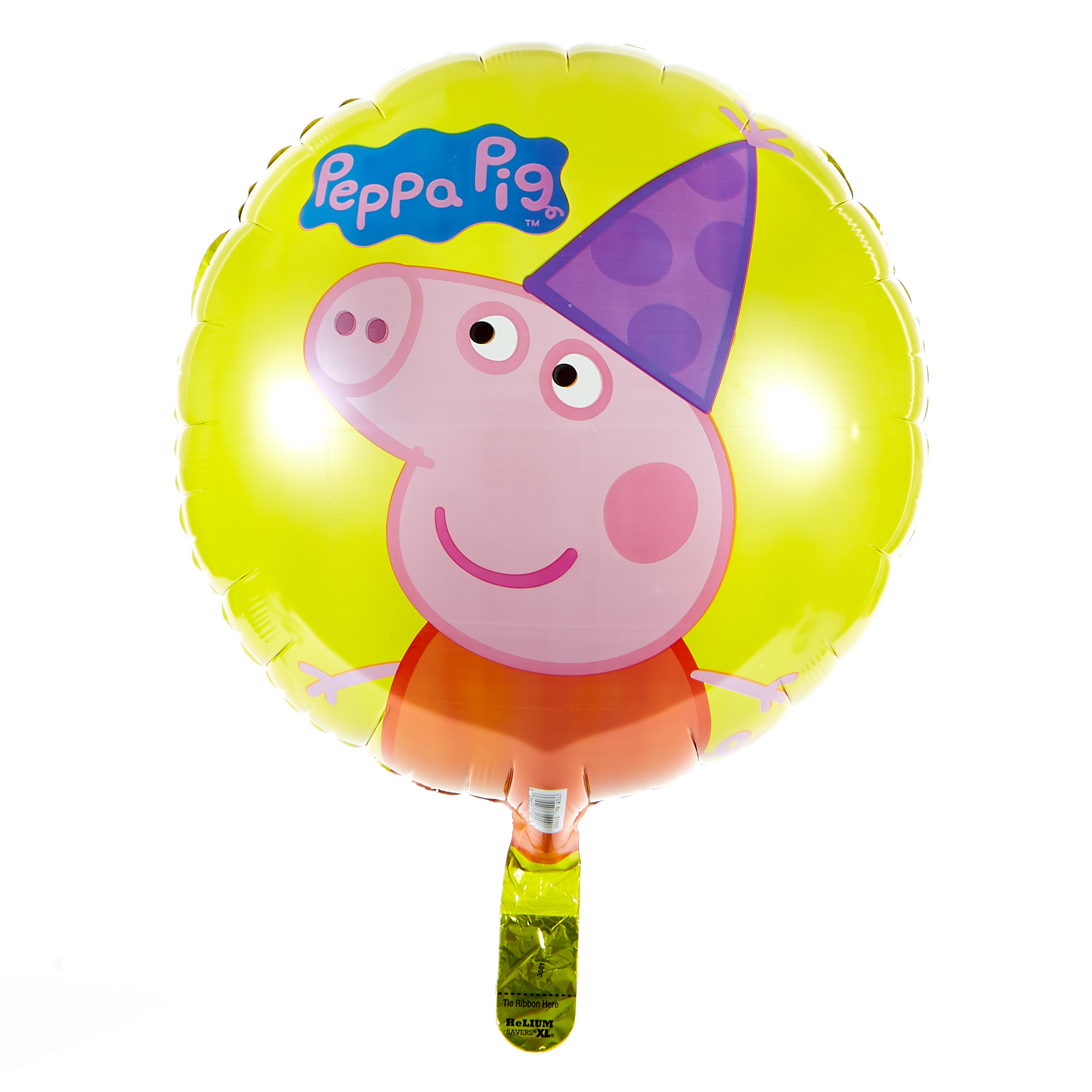 buy peppa pig 17inch foil helium balloon for gbp 299