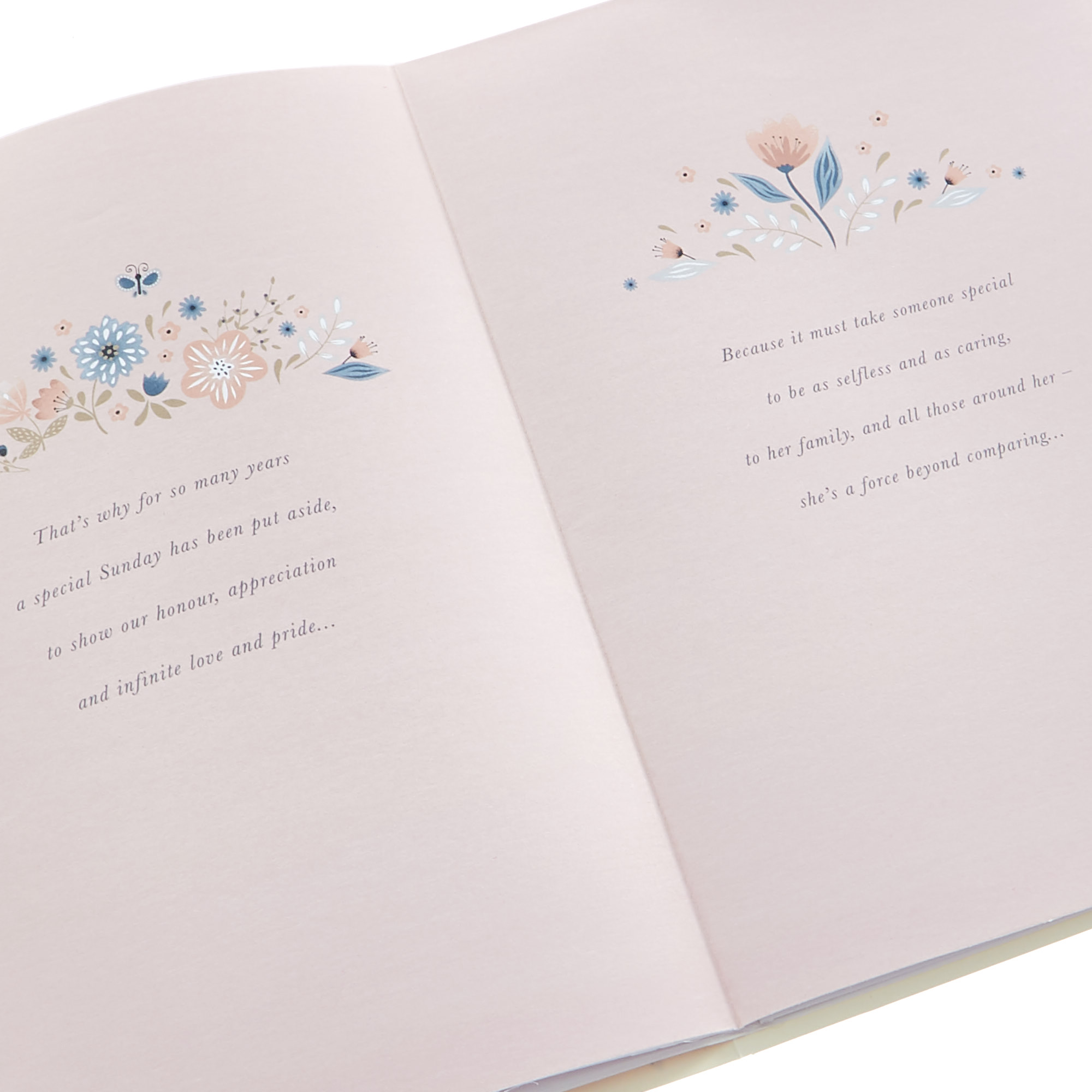 Mother's Day Card - For A Mum Who Means The World