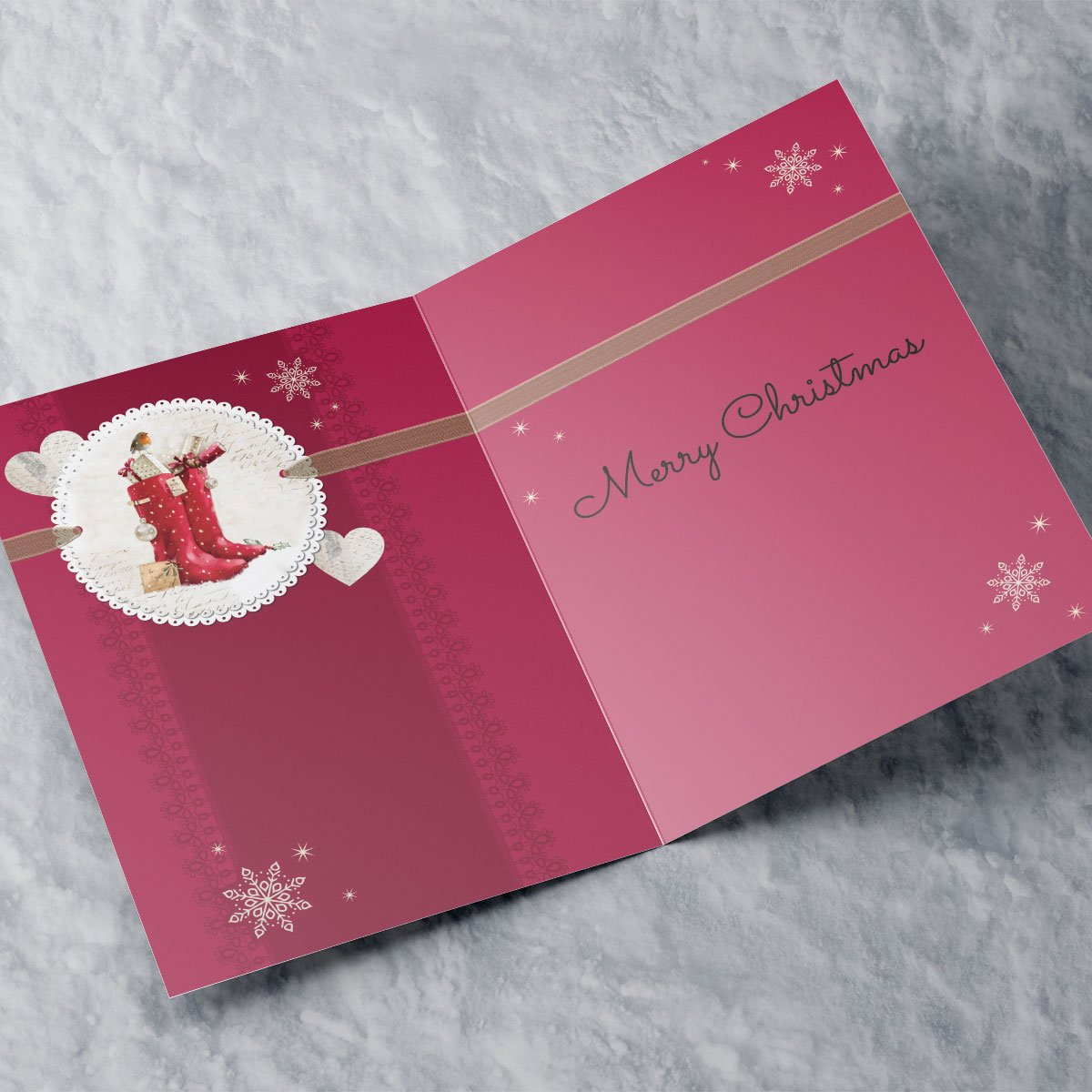Personalised Christmas Card - Especially For You
