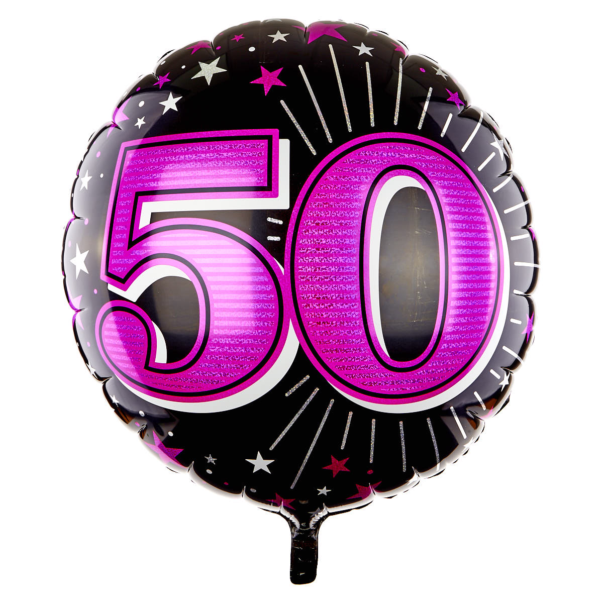 31 Inch 50th Birthday Helium Balloon - Pink