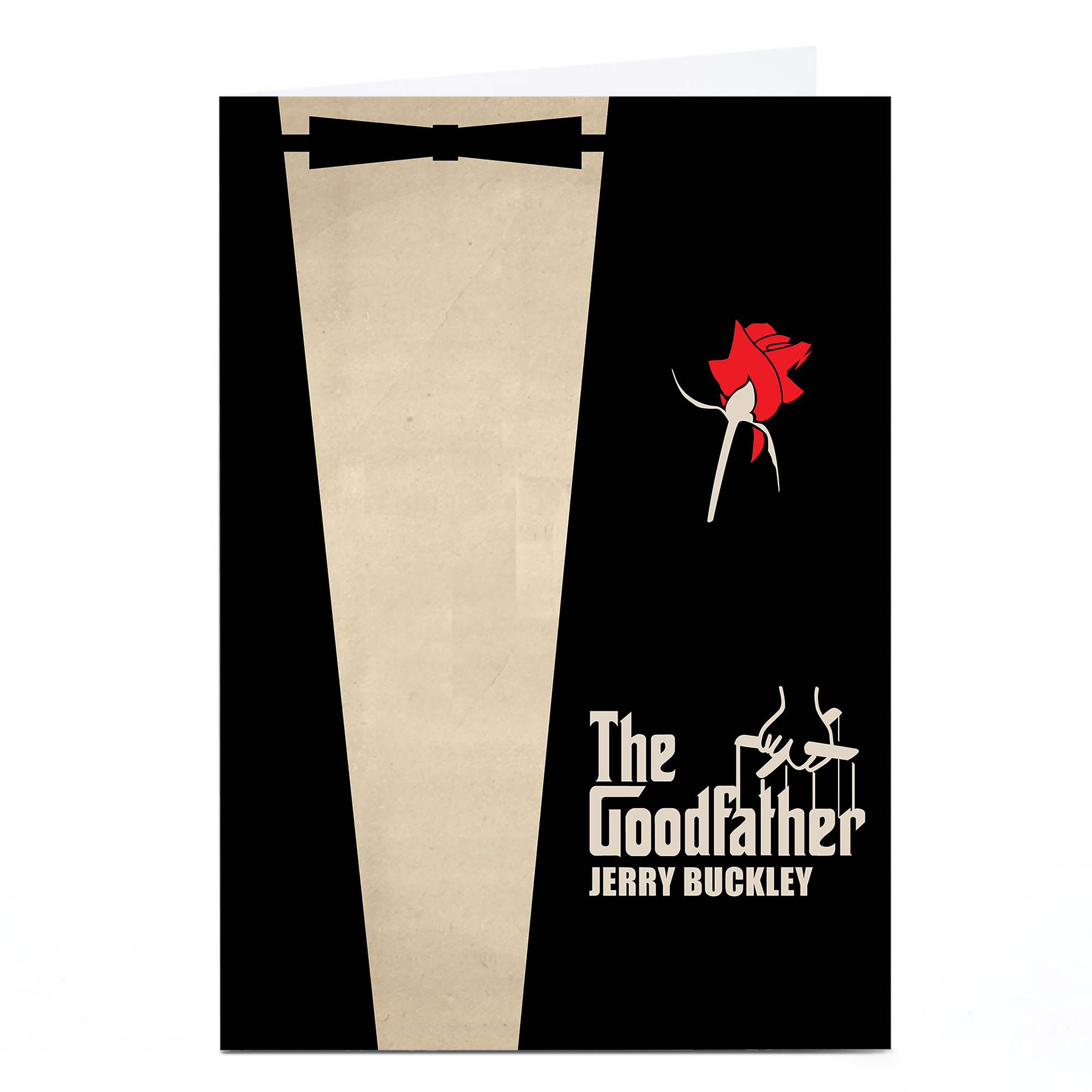 Personalised Card - The Goodfather