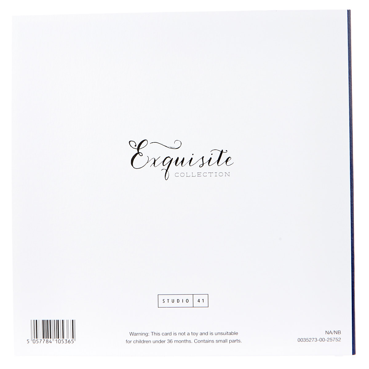 Exquisite Collection 80th Birthday Card - Any Male Recipient (Stickers Included)