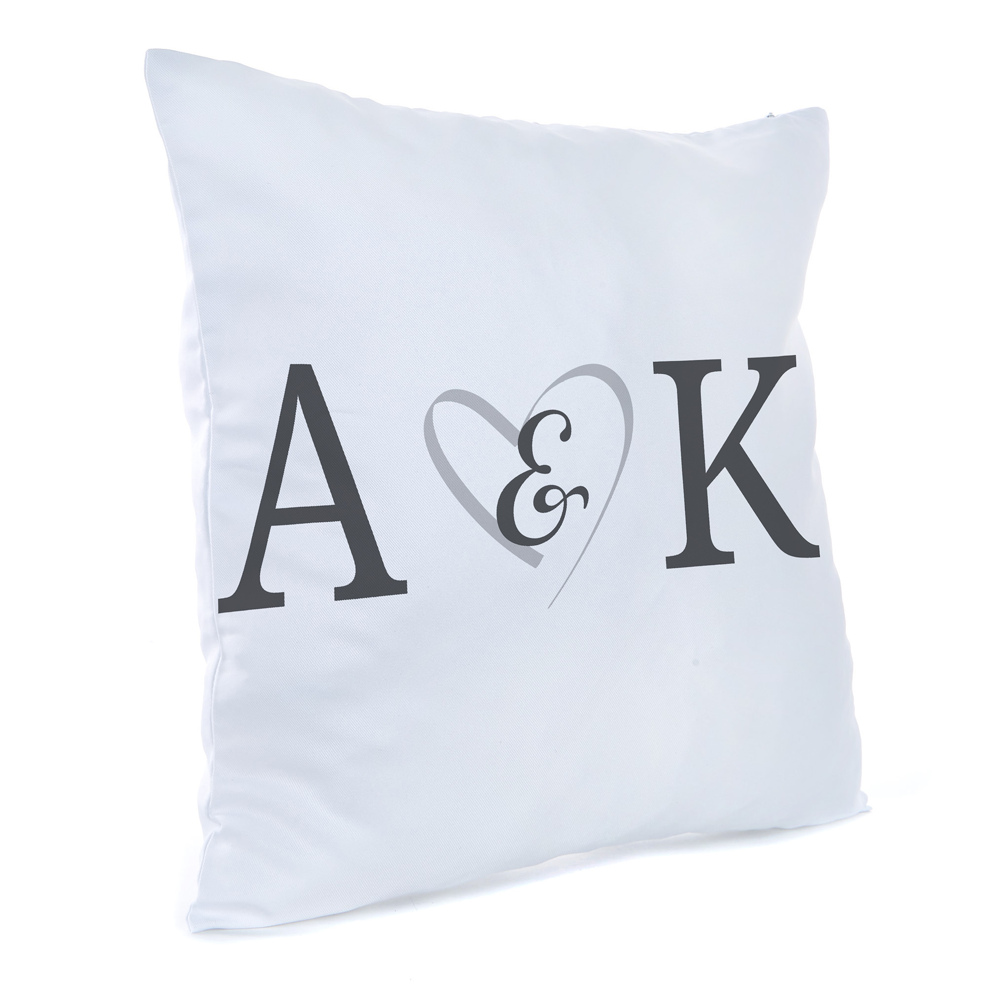 Personalised Cushion - Couple Initials