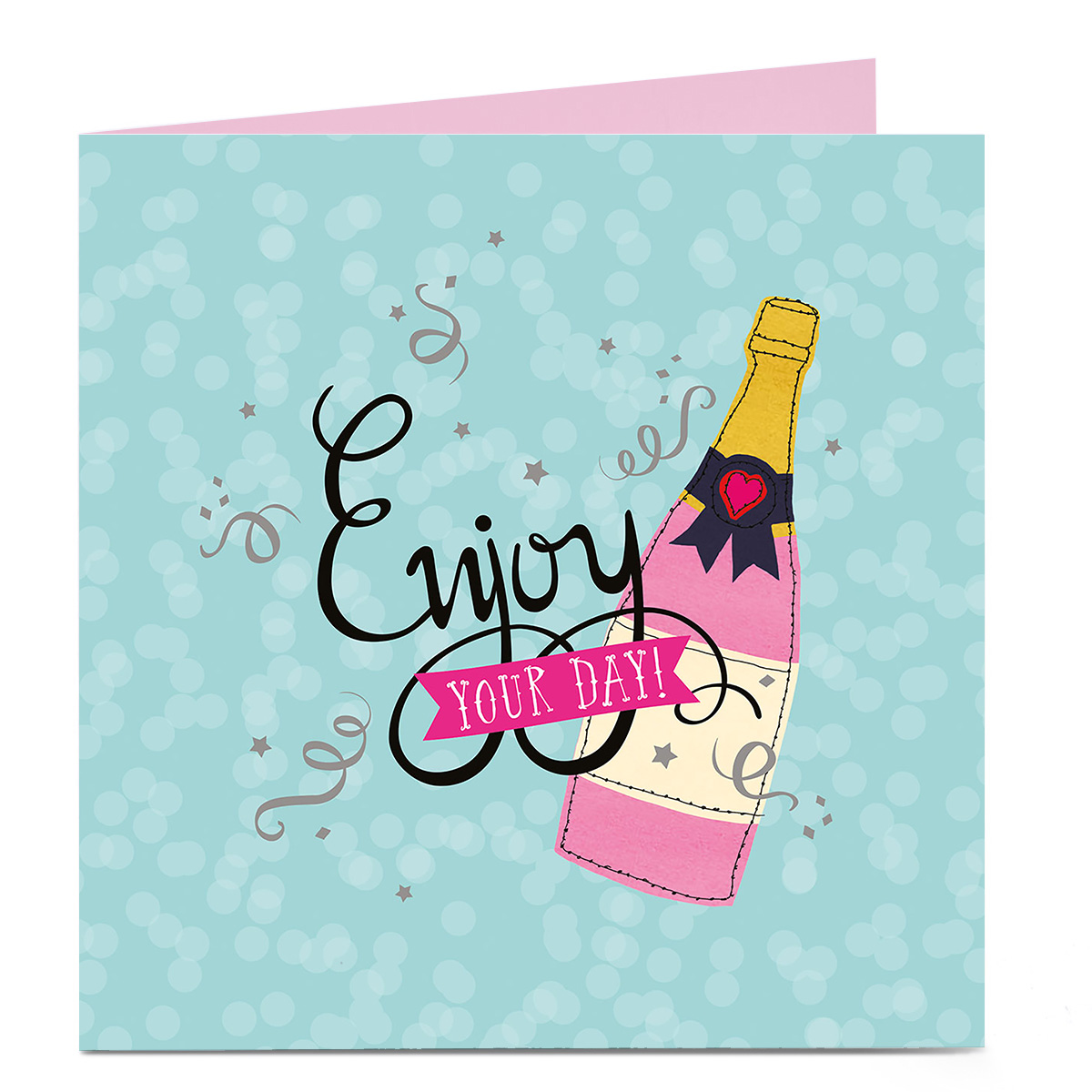 Personalised Bright Ideas Card - Enjoy Your Day