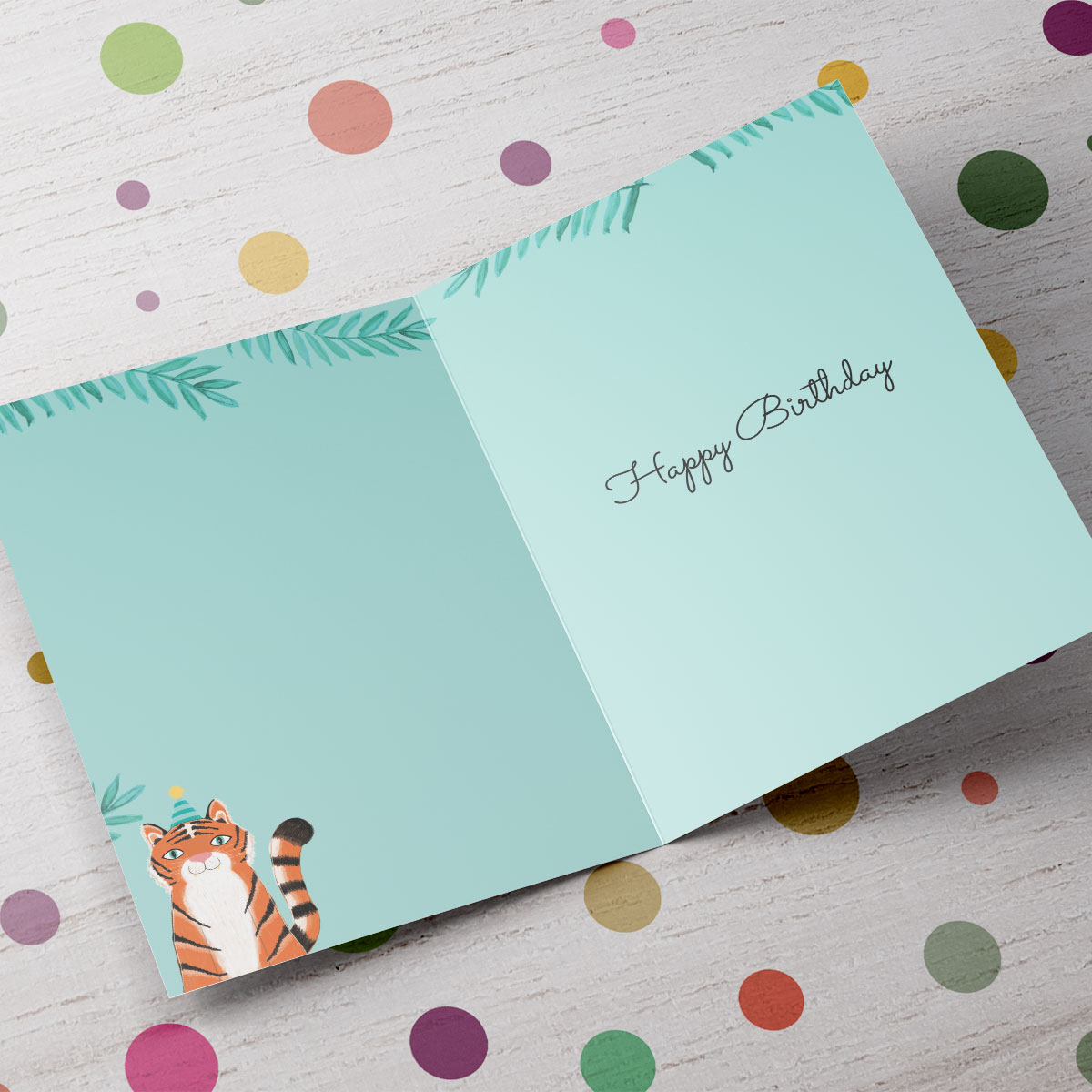 Personalised Any Age Birthday Card - Have A Roarsome Day