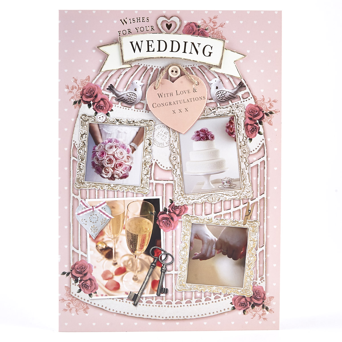 Wedding Card - Bird Cage