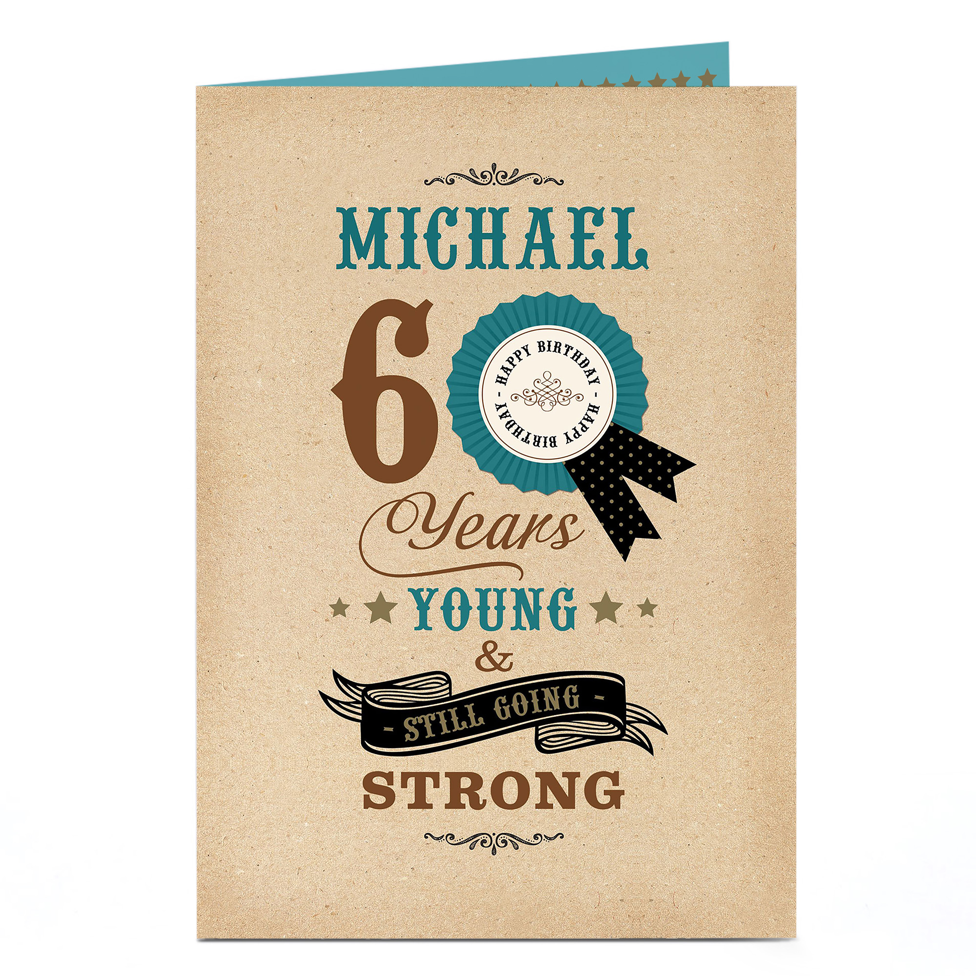 Personalised 60th Birthday Card - Still Going Strong