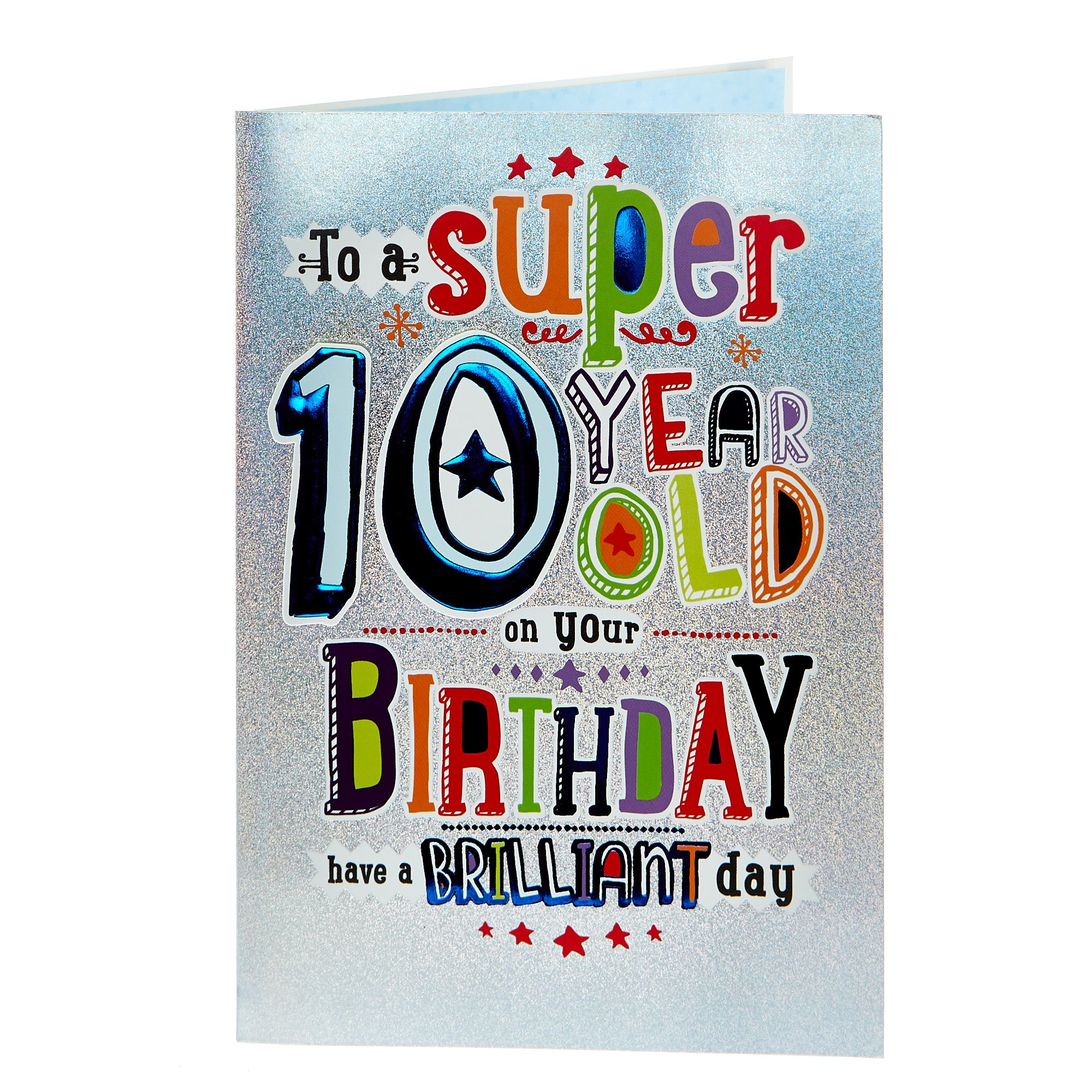 Buy 10th Birthday Card - Have A Brilliant Day for GBP 0.79 ...